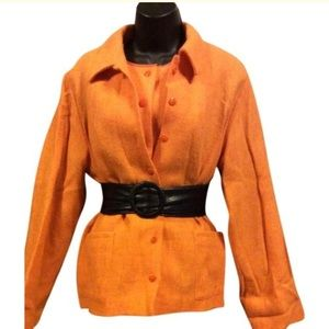 Ventilo La Colline Jackets & Coats - Ventilo La Colline Vintage Wool Twin Set